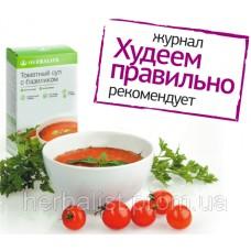 Томатный суп с базиликом от Гербалайф